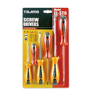 tajima® definir chave de fenda palavra cruzamento da suíte de ferramentas do agregado familiar de ferramentas manuais de hardware