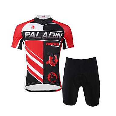 ILPALADINO Homens Manga Curta Camisa com Shorts para Ciclismo Moto Shorts Camisa/Roupas Para Esporte Conjuntos de Roupas, Secagem Rápida,