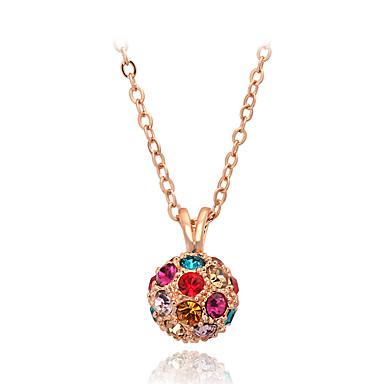 Herrn Damen Gestalten Niedlich Party Büro Freizeit Mehrfarbig Modisch bezaubernd Anhängerketten Kristall Krystall Künstliche Perle