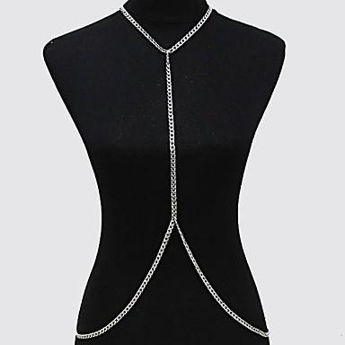 Bauchkette / Körper-Kette / Bauchkette - vergoldet Europäisch, Simple Style, Bikini Damen Gold / Silber Körperschmuck Für Alltag / Normal