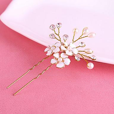 Perle / Krystall Haar-Stock / Haarnadel mit 1 Hochzeit / Besondere Anlässe Kopfschmuck