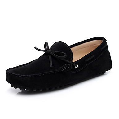 povoljno SHENN-Muškarci Cipele za vožnju Koža Proljeće / Ljeto Udobne cipele Natikače i mokasinke Null Null Kava / Navy Plava / Burgundac