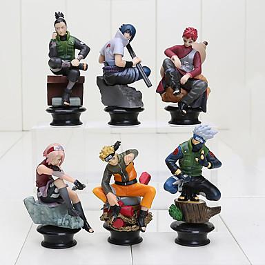 Figuras de Ação Anime Inspirado por Naruto Sasuke Uchiha PVC CM modelo Brinquedos Boneca de Brinquedo