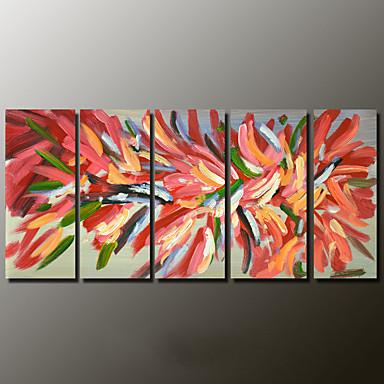 Pintados à mão Vida Imóvel Modern,2 Painéis Tela Hang-painted pintura a óleo