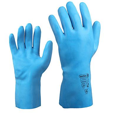 delta® כפפות מגן כפפות לטקס טבעי הוכחה חומצה בטמפרטורה גבוהה של 100 מעלות