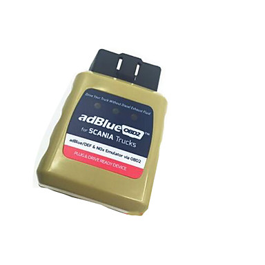 אמולטור adblueobd2 למשאיות סקאניה תקע OBD2 AdBlue ומשחק