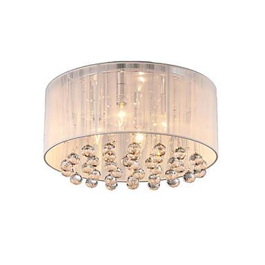 4-luz Montagem do Fluxo Luz Ambiente - Cristal, Designers, 110-120V / 220-240V Lâmpada Não Incluída / 20-30㎡ / E12 / E14