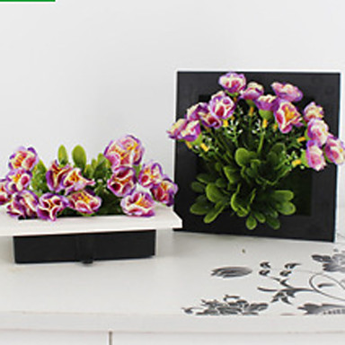 1 Tak Polyester Kunststof Overige Bloemen voor op de muur Kunstbloemen
