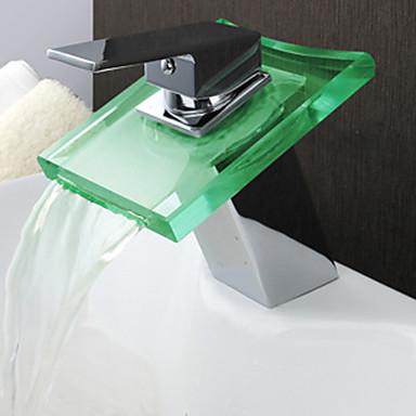 LED 水栓ライト 電池 防水 ABS樹脂 / ガラス