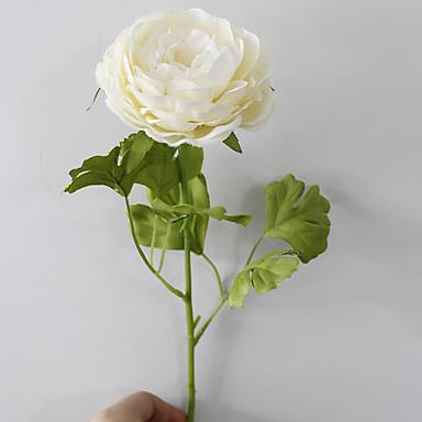 Kunstige blomster 1 Afdeling Moderne Stil Pæoner Bordblomst