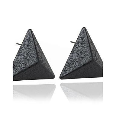Damen Zirkon - Modisch Schwarz Dreieck Ohrringe Für Hochzeit Party Alltag Normal