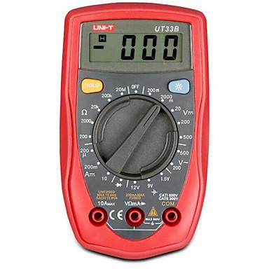 uni-t multímetro digital portátil de mão (ut33b)