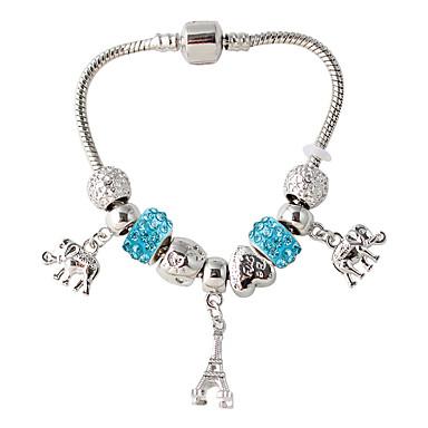 Dames Strand Armbanden Modieus Legering Wit Rood Blauw Sieraden Voor Bruiloft Feest 1 stuks