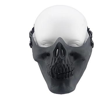 sort farve andet tilbehør materiale beskyttelse spil felt kranium maske