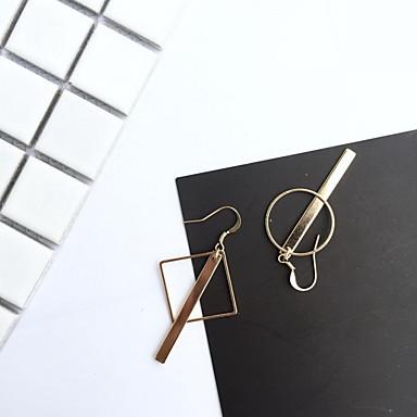 Tropfen-Ohrringe Modisch Aleación Kreisform Golden Schmuck Für Alltag Normal 1 Stück