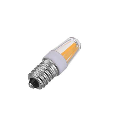1pc 200-300lm E14 LED-glødepærer T 4 LED perler COB Mulighet for demping Dekorativ Varm hvit Kjølig hvit 220-240V