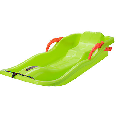 Sneslæder 2 Børn Grøn PE 88cm