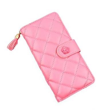 Damen Taschen PU Leinen Abendtasche Brieftasche für Veranstaltung / Fest Formal Ganzjährig Grün Blau Rosa Dark Gray Rotgold