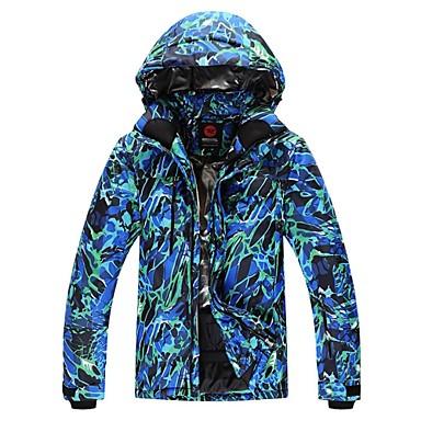 GQY® Heren Ski-jack Houd Warm Winddicht Draagbaar Skiën Wintersporten Polyester