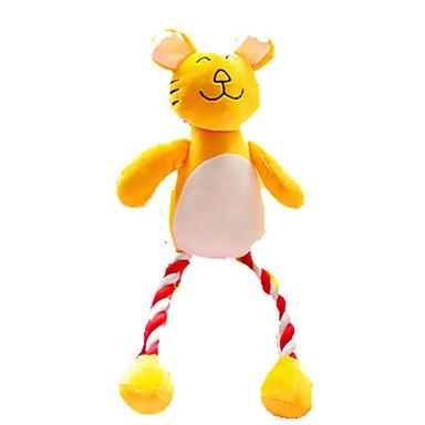 Brinquedos Felpudos Brinquedo Para Higiene Oral Brinquedos que Guincham rangido Felpudo Para Brinquedo Para Gato Brinquedo Para Cachorro