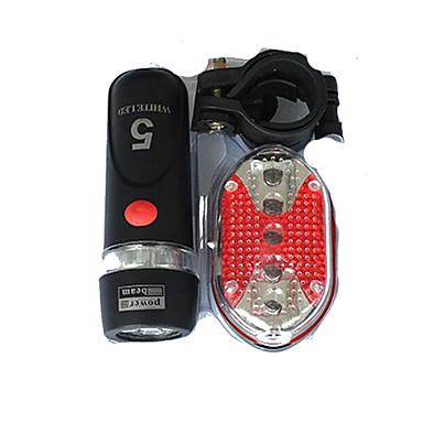 Luz Frontal para Bicicleta Luz Traseira Para Bicicleta - Ciclismo Fácil de Transportar AAA 400 Lumens Bateria Ciclismo