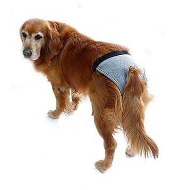 Hund Hosen Hundekleidung Solide Schwarz Grau Rose Baumwolle Kostüm Für Haustiere Sommer Herrn Damen Lässig / Alltäglich