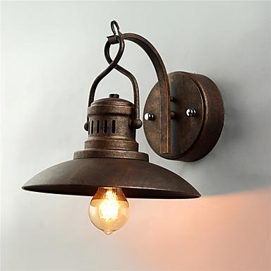 CXYlight Rústico / Campestre / Vintage / Retro Lámparas de pared Metal Luz de pared 220v / 110V Max 60W / E26 / E27