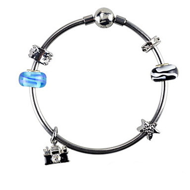 Dames Strand Armbanden Modieus Sierstenen leuke Style Europees Legering Cirkelvorm Sieraden Voor Dagelijks Causaal