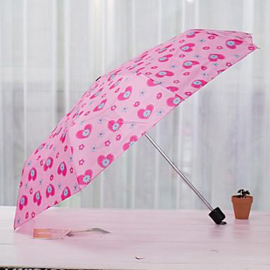 Sammenfoldet paraply Silikone Metal Klapvogn Herrer børn Rejse Dame Bil