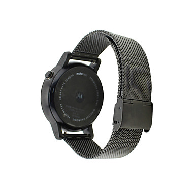 Uhrenarmband für Moto 360 Motorola Klassische Schnalle Edelstahl Handschlaufe
