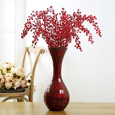 1 1 Tak Kunststof Planten Bloemen voor op de grond Kunstbloemen 34.6inch/88cm