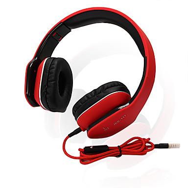 JKR JKR-111 Høretelefoner (Pandebånd)ForMedieafspiller/Tablet Mobiltelefon ComputerWithMed Mikrofon DJ Lydstyrke Kontrol Gaming Sport