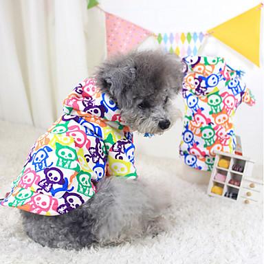 Hunde Hættetrøjer Hundetøj Vinter Forår/Vinter Farveblok Mode Hold Varm