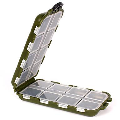 Fiskegrejer Kasser Utstyrskasse Vanntett 1 Brett Plast 3.3 cm 13 cm