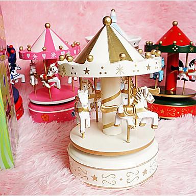 Fødselsdag Part favoriserer og gaver-1 stk / sæt Gaver Mærkat Træ Klassisk Tema