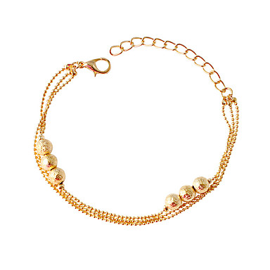 Dame Kæde & Lænkearmbånd Mode Legering Cirkelformet Smykker