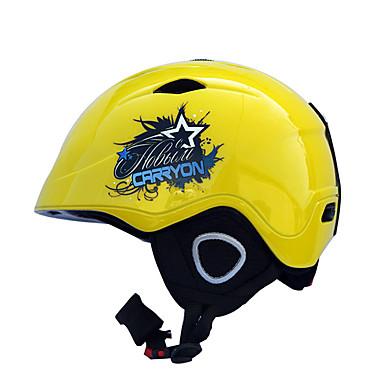 Helm Niet van Toepassing Sporthelm Wit Zwart Geel Donker Grijs Blauw sneeuw Helm Niet van Toepassing PC EPS+EPU Sneeuwsporten