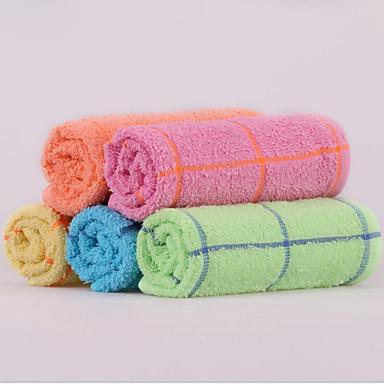 Was Handdoek,Garen Geverfd Hoge kwaliteit Polyester / Katoen Mix Handdoek