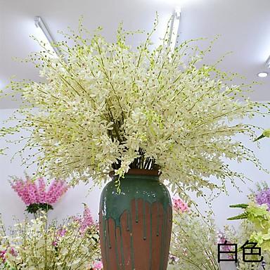 1 1 Ramo Poliéster / Plástico Outras Flor de Mesa Flores artificiais 43.301inch/110cm