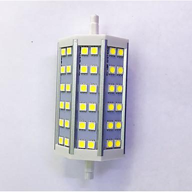 600lm R7S LED-kornpærer T 36LED LED perler SMD 5050 Dekorativ Varm hvit / Kjølig hvit 85-265V
