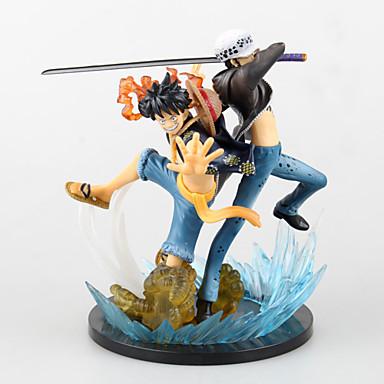 Anime Akcijske figure Inspirirana One Piece Monkey D. Luffy 16cm CM Model Igračke Doll igračkama