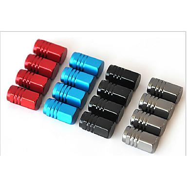 aleación de aluminio de tapa de la válvula del automóvil casquillo del casquillo de válvula del neumático de automóvil del producto tapa