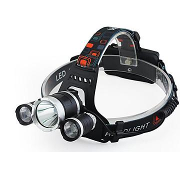 abordables Lampes & Lanternes de Camping-Lampes Frontales LED - Cree Q5 Cyclisme Transport Facile 18650 400 Lumens Batterie Cyclisme