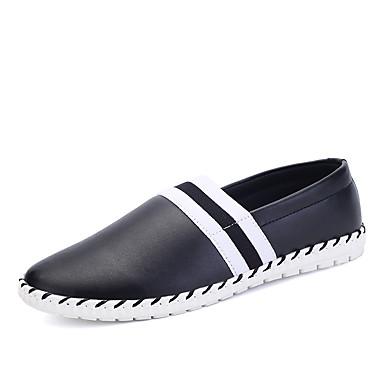 Masculino sapatos Courino Primavera Verão Outono Inverno Mocassins e Slip-Ons Para Casual Preto Marron Azul