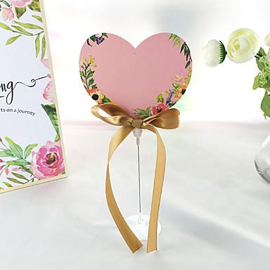 plastic tafel nummer kaarten staande stijl geschenkdoos bruiloft receptie