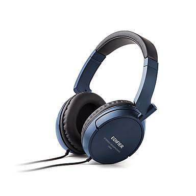 H840 Sobre oreja Cinta Con Cable Auriculares El plastico Teléfono Móvil Auricular Con control de volumen Con Micrófono Aislamiento de