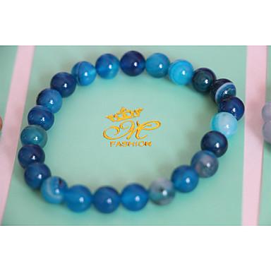 Dames Synthetische Aquamarijn Sierstenen Strand Armbanden - Vintage Armbanden Paars / Blauw Voor Dagelijks / Causaal