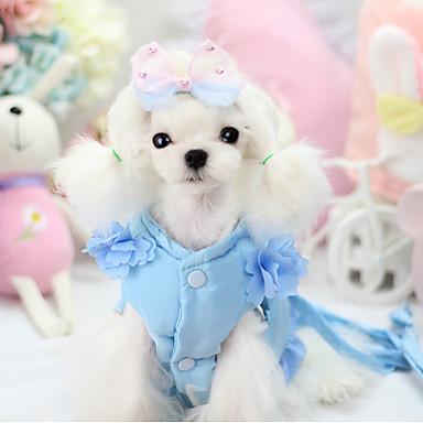 Hund Geschirre Hundekleidung Lässig/Alltäglich Solide Purpur Rot Blau Kostüm Für Haustiere