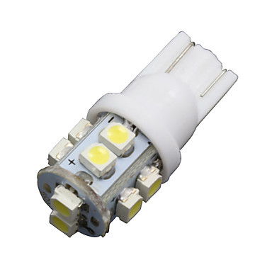 SO.K 10pcs T10 Car Light Bulbs 2 W SMD 3528 100 lm 10 LED Turn Signal Light For universal
