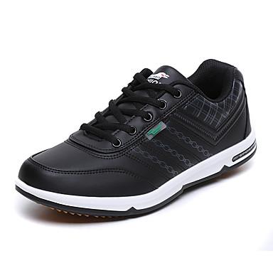 Homens sapatos Courino Primavera Verão Solados com Luzes Tênis Corrida Cadarço para Atlético Branco Preto
